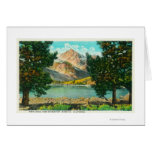 View of Twin Lakes near Bridgeport Greeting Card