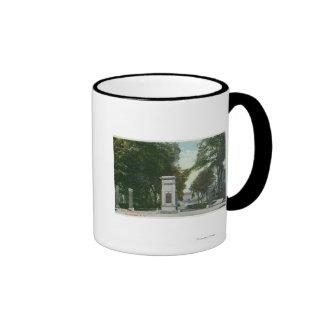 View of Union College Memorial Gate Coffee Mug