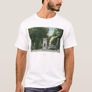View of Union College Memorial Gate T-Shirt