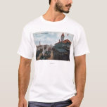 View of Union Station Railroad T-Shirt