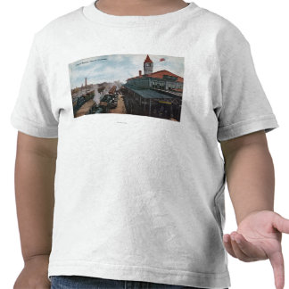 View of Union Station Railroad T-shirts