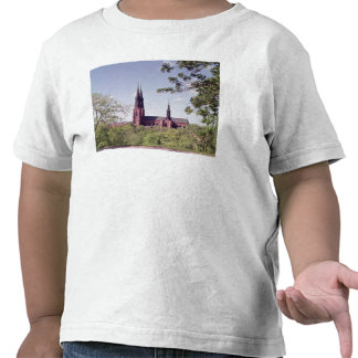 View of Uppsala Cathedral from the Castle Tee Shirts