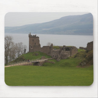 View of Urquhart Castle Mouse Pad