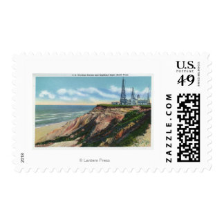 View of US Wireless Station, Highland Postage Stamp