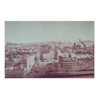 View of Utica City, New York State Poster