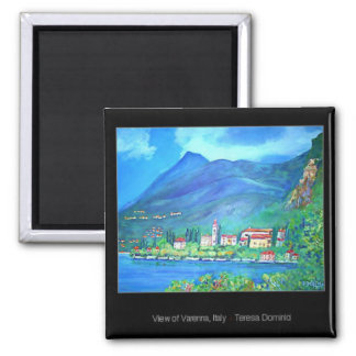 View of Varenna, Italy Magnet