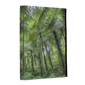 View of vegetation in Bali Botanical Gardens, iPad Folio Covers