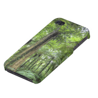 View of vegetation in Bali Botanical Gardens, iPhone 4 Cover