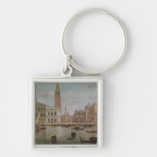 View of Venice, 1719 Keychain