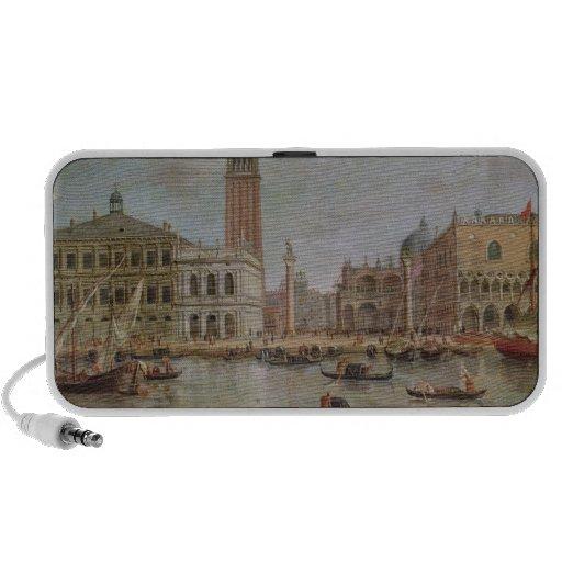 View of Venice, 1719 Portable Speaker