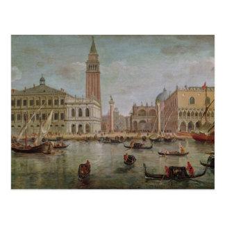 View of Venice, 1719 Postcard