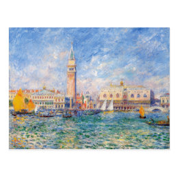 View of Venice by Renoir Postcard