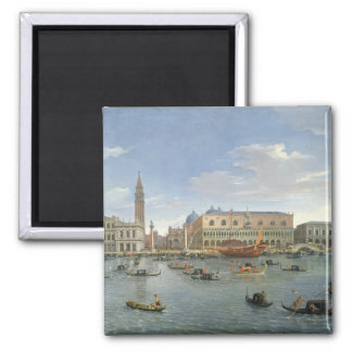View of Venice from the Island of San Giorgio, 169 2 Inch Square Magnet