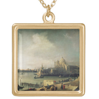 View of Venice Gold Plated Necklace