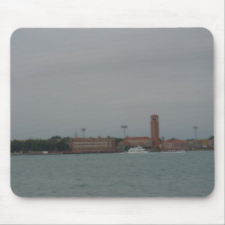View of Venice Mainland from Lido, Venice Mouse Pad