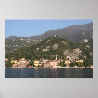 View of Verana, Lake Como, Italy Poster