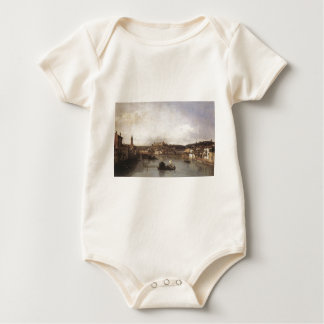 View of Verona and the River Adige from the Ponte Baby Bodysuit