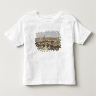 View of Verona, engraved by L. Cherbuin (colour en Tee Shirt