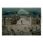 View of Versailles Greeting Card