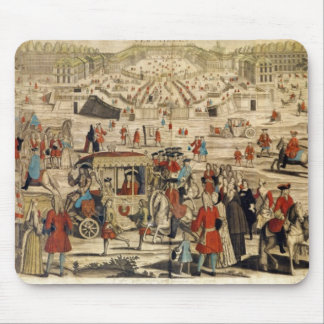 View of Versailles Mouse Pad
