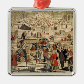 View of Versailles Christmas Tree Ornaments
