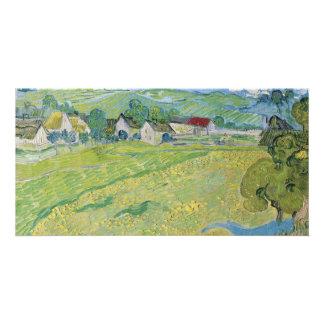 View of Vessenots Near Auvers by Vincent Van Gogh Card