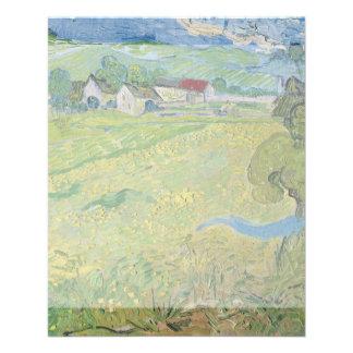 View of Vessenots Near Auvers by Vincent Van Gogh Flyer