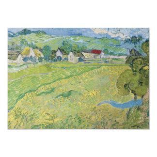 "View of Vessenots Near Auvers by Vincent Van Gogh 5"" X 7"" Invitation Card"