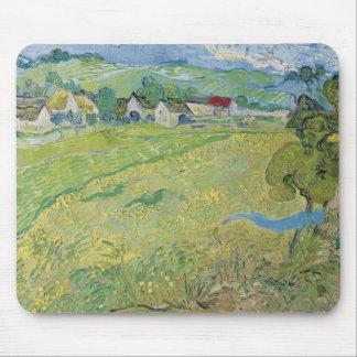 View of Vessenots Near Auvers by Vincent Van Gogh Mouse Pads