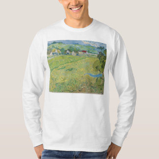 View of Vessenots Near Auvers by Vincent Van Gogh T-Shirt