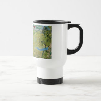 View of Vessenots Near Auvers by Vincent Van Gogh Travel Mug