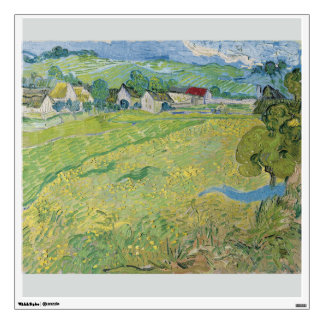 View of Vessenots Near Auvers by Vincent Van Gogh Wall Sticker