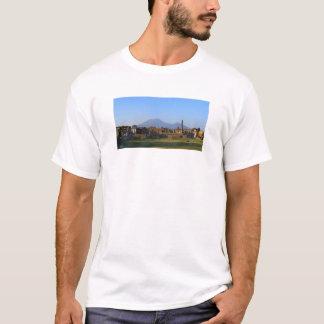View Of Vesuvius Over The Ruins Of Pompeii T-Shirt