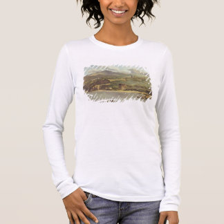 View of Vico Estense from Sorrento looking towards Long Sleeve T-Shirt