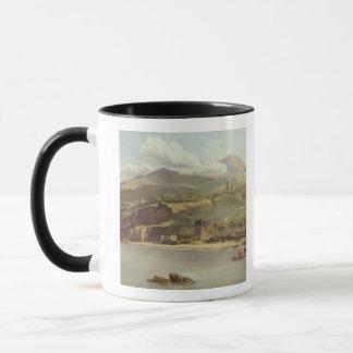 View of Vico Estense from Sorrento looking towards Mug