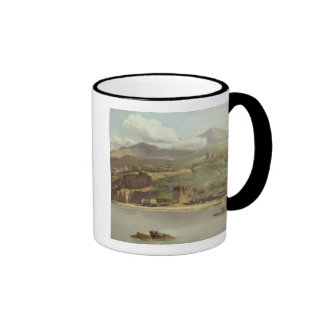 View of Vico Estense from Sorrento looking towards Ringer Coffee Mug