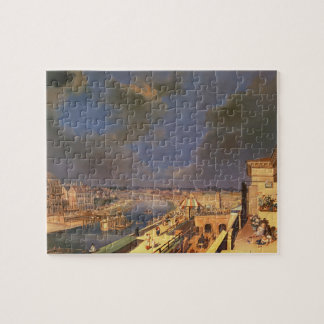 View of Vienna, 1819 (oil on canvas) Jigsaw Puzzle