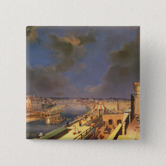 View of Vienna, 1819 (oil on canvas) Pinback Button