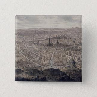 View of Vienna, c.1860 Pinback Button