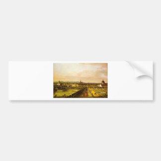 View of Vienna from the Belvedere Bumper Sticker