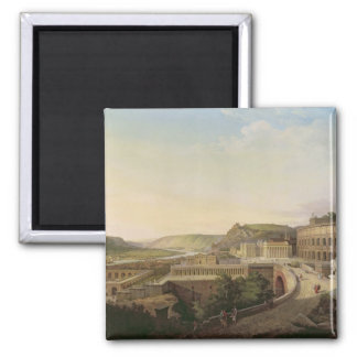View of Vienna in Roman Times, 1860 2 Inch Square Magnet