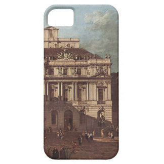 View of Vienna, square in front of the university iPhone SE/5/5s Case