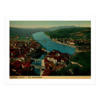 View of Vienne France Vintage Postcard