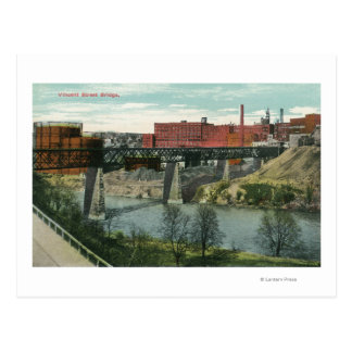 View of Vincent Street Bridge Postcard