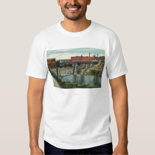 View of Vincent Street Bridge Tshirt