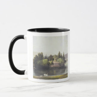 View of Virginia Water with Garden Temples, from ' Mug