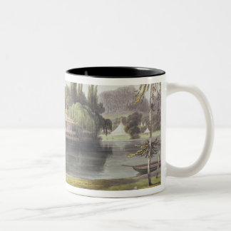 View of Virginia Water with Garden Temples, from ' Two-Tone Coffee Mug