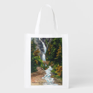 View of Wah-Kee-Na Falls Reusable Grocery Bags