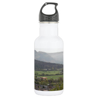 View of Wallace Monument in Scotland 18oz Water Bottle