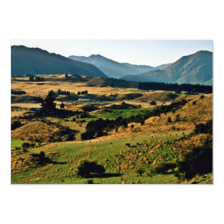 View Of Wanaka From Mt. Iron 5x7 Paper Invitation Card
